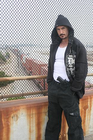 Carl Van Meter-black hoodie